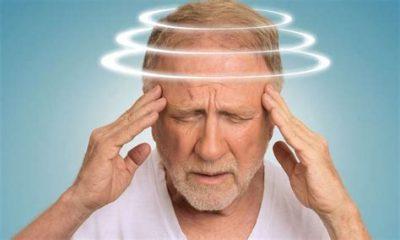 man with vertigo symptoms